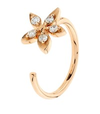 Bee Goddess Apple Seed Diamond Midi Ring Female
