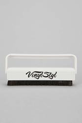 Urban Outfitters Anti Static Record Brush White