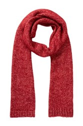 Jack Spade Gallagher Brushed Scarf Red