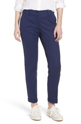 Brax Maron Cuffed Straight Leg Pants Navy