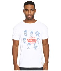 The Original Retro Brand Vintage Cotton Animal House Short Sleeve Tee White Men's T Shirt