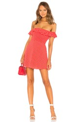 Privacy Please Ellen Mini Dress Red