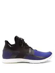 Y 3 Arc Rc Low Top Neoprene Trainers Purple Multi