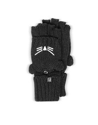 Karl Lagerfeld Choupette Black Wool Blend Gloves