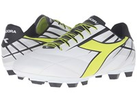 Diadora Forte Md Lpu White Fluo Yellow Black Men's Soccer Shoes