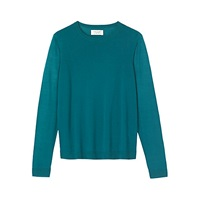 Toast Merino Wool Jumper Teal
