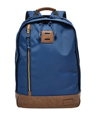 Fossil Sportsman Laptop Backpack Navy