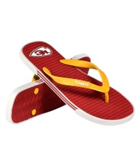 Forever Collectibles Kansas City Chiefs Thong Sandals Red