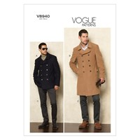 Vogue Men's Jacket And Trousers Sewing Pattern 8940