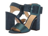 Etro Satin Sandal Blue Sandals