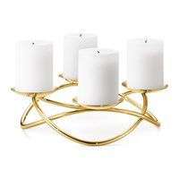 Georg Jensen Maria Berntsen Season Grand Candle Holder Gold