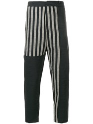 Tom Rebl Straight Leg Printed Trousers Multicolour