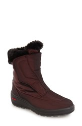 Pajar Women's 'Kimmi' Snow Boot Burgundy Fabric