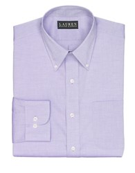 Lauren Ralph Lauren Oxford Dress Shirt Medium Purple