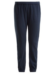 Skin Savoy Cotton Track Pants Indigo