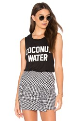 Private Party Coconut Water Tank Black