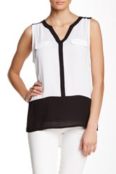 Dex Colorblock Tank Black