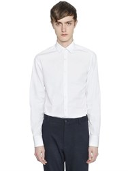 Lanvin Slim Fit Cotton Poplin Shirt