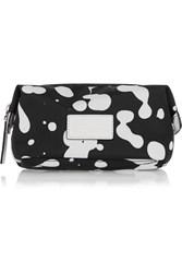 Marc By Marc Jacobs Printed Canvas Cosmetics Case Black
