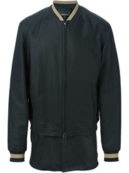 3.1 Phillip Lim Layered Bomber Jacket Black