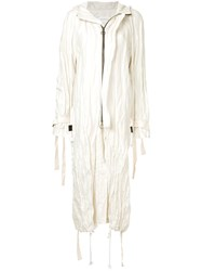 Song For The Mute Wander Beach Parka White