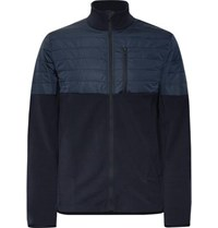 Aztech Mountain Smuggler Fleece And Quilted Shell Jacket Navy