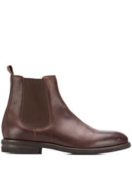 Brunello Cucinelli Classic Ankle Boots Brown