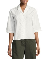 Dries Van Noten Cala Flocked Camp Shirt Neutral Neutral Pattern
