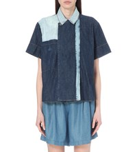 Anglomania Memphis Denim Shirt Blue Denim