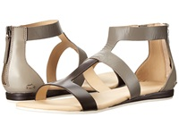 Lacoste Atalaye Light Grey Brown Women's Sandals Gray