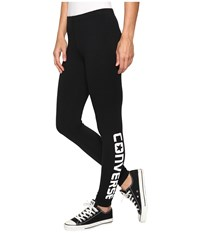 Converse Core Wordmark Leggings Black Women's Casual Pants