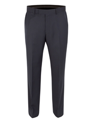 Pierre Cardin Stripe Regular Fit Trouser Navy