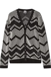 M Missoni Open And Stretch Knit Cardigan Multi