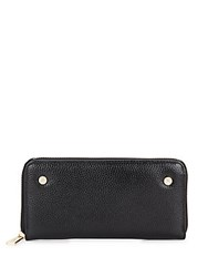 Kc Jagger Bailey Faux Leather Zip Around Wallet Black