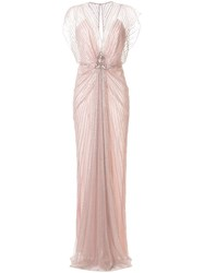 Jenny Packham Amelie Beaded Evening Dress 60