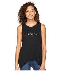 Hurley Dri Fit Tank Top Black Women's Sleeveless