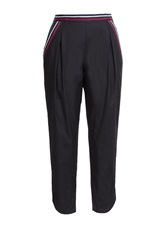 See By Chloe See By Chloe Cropped Cotton Pants Black