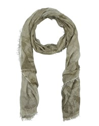 Tagliatore Oblong Scarves Military Green