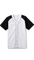 Shades Of Grey By Micah Cohen Baseball Shirt