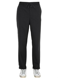 Golden Goose Striped Stretch Wool Pants