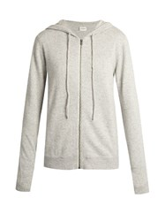 Le Kasha Jaipur Hooded Cashmere Sweater Light Grey