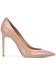 Saint Laurent 'Anja' Pumps Nude Neutrals