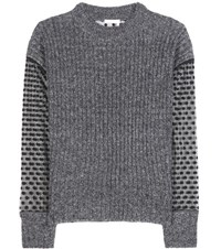 See By Chloe Knitted Sweater Grey