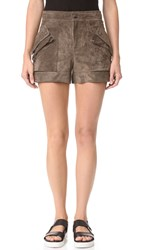 Helmut Lang Patch Pocket Shorts Mortar