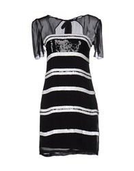 Alice By Temperley Short Dresses Black