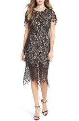 Fire Women's Scallop Lace Dress