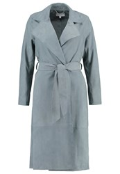 Reiss Maine Trenchcoat Moss Mint