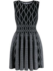 Antonino Valenti Skater Dress Black