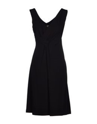 Mine Knee Length Dresses Black