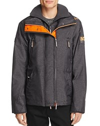 Superdry Wind Attacker Jacket Charcoal Gray
